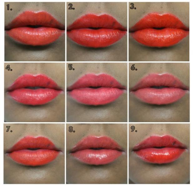 lips 1-9